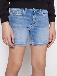 Calvin Klein Jeans Szorty jeansowe Essential IG0IG00863 Niebieski Slim Fit