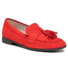 Mokasyny KEDDO - 817120/01-03 Red