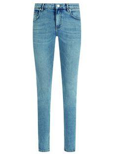 Pinko Jeansy 1X10E4 Y5A8 Niebieski Regular Fit
