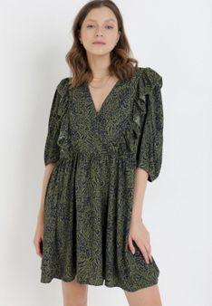 Zielona Sukienka Phiomeia