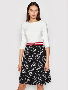Lauren Ralph Lauren Sukienka codzienna 250821598001 Kolorowy Regular Fit