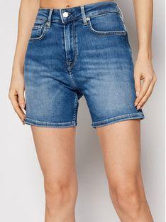 Pepe Jeans Szorty jeansowe ARCHIVE Mary PL800848 Granatowy Slim Fit