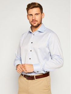 Eton Koszula 100001729 Niebieski Regular Fit