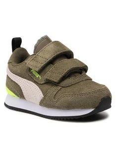 Puma Sneakersy R78 Sd V Inf 368591 01 Zielony