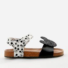 Reserved - Sandały z motywem Myszki Miki - Czarny