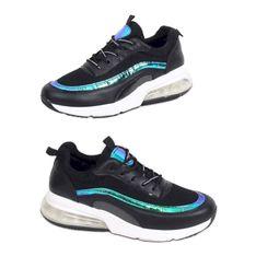 Buty sportowe damskie czarne LL1758 Black