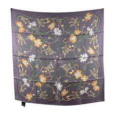 Flower Webby Square Scarf