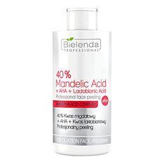 Bielenda Professional, peeling kwasowy do twarzy, 40% kwas migdałowy+ AHA+ kwas laktobionowy, 150g