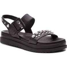 Carinii sandały damskie z klamrą