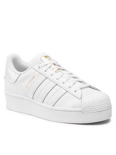 adidas Buty Superstar Bold W FV3334 Biały