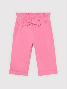 Mayoral Spodnie materiałowe 1575 Różowy Regular Fit