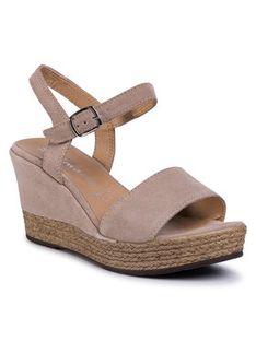 Tamaris Sandały 1-28062-24 Beżowy