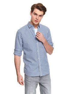 Koszula z tkaniny oksford o komfortowym kroju