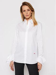 Victoria Victoria Beckham Koszula Stardust Poplin 2121WSH002279A Biały Regular Fit