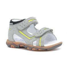 Sandały Bartek W-71825/76G, Dla Chłopców, Szary