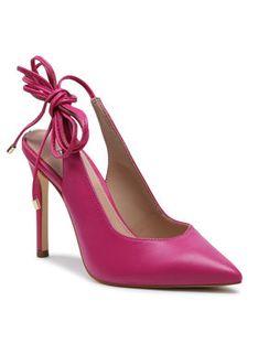 Guess Sandały Briola FL5BRL LEA05 Różowy