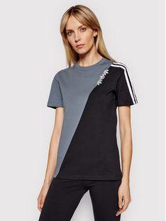 adidas T-Shirt adicolor Sliced Trefoil GN2827 Kolorowy Regular Fit