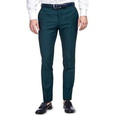 Spodnie męskie Giacomo Conti zielony