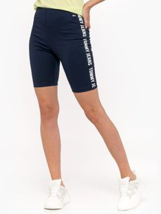 """Tommy Jeans """"Fitted Branded Bike Short"""" Blue"""