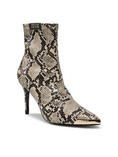 Versace Jeans Couture Botki 71VA3S51 Beżowy