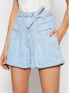 Pinko Szorty jeansowe Pj406 PE 21 PDEN 1J10M0 Y649 Niebieski Regular Fit