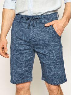 Pepe Jeans Szorty jeansowe Clife Short Leaf PM800774 Granatowy Regular Fit
