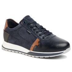 Sneakersy WOJAS - 10021-76 Granatowy/J. Brąz