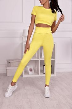 Komplet sportowy FORRY YELLOW