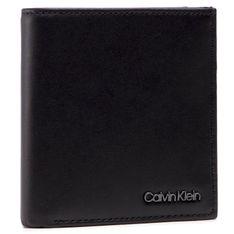 Mały Portfel Męski CALVIN KLEIN - Trifold 6CC W/Coin K50K506388 BAX