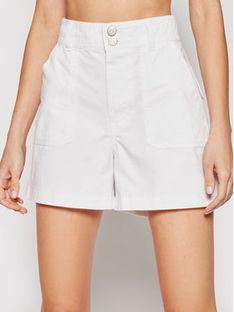 Tommy Jeans Szorty materiałowe Tjw Harper DW0DW09753 Biały Slim Fit