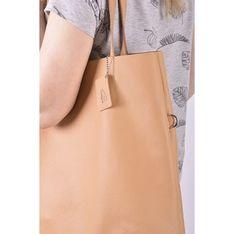 Shopper bag Designs Fashion ze skóry wakacyjna