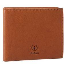 Duży Portfel Męski STRELLSON - Bill Fold H7 4010002740  Cognac 703