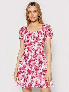 Guess Sukienka letnia W1GK1A WDVB1 Różowy Regular Fit