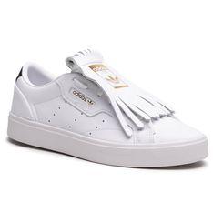 Sneakersy adidas - Sleek W FY5047  Ftwwht/Cblack/Crywht