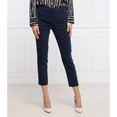Michael Kors Spodnie chino | Regular Fit | high rise