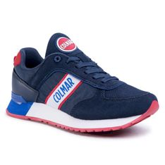 Sneakersy COLMAR -  Travis Runner 032 Navy
