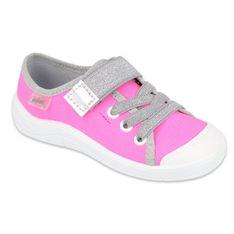 Befado obuwie dziecięce 251X171 różowe szare
