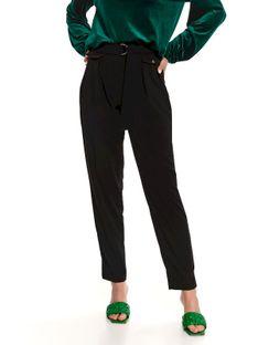 Eleganckie spodnie z lejącej tkaniny