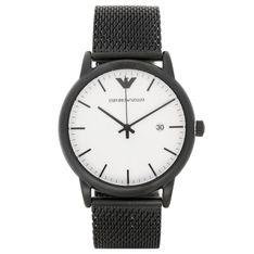 Zegarek EMPORIO ARMANI - Luigi AR11046  Black/Black