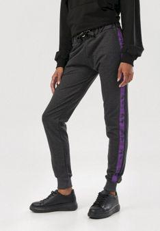 Ciemnoszare Spodnie Cerifera