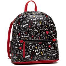 Plecak NOBO - NBAG-K0510-CM05 Multi Czerwony