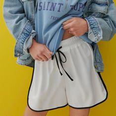 Reserved - Luźne szorty - Biały