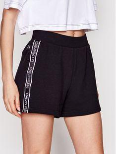 Calvin Klein Swimwear Szorty plażowe 00GWS1S895 Czarny Regular Fit