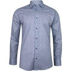 Koszula męska To-on w abstrakcyjnym wzorze