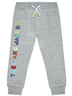 Little Marc Jacobs Spodnie dresowe W24230 S Szary Regular Fit