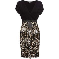 Sukienka BODYFLIRT z krótkim rękawem mini kopertowa