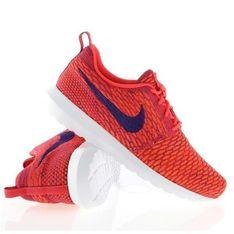 Buty Nike Flyknit Rosherun M 677243-600 czerwone