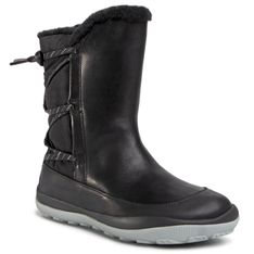 Śniegowce CAMPER - Peu Pista Gm GORE-TEX K400386-007 Black