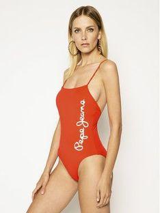 Pepe Jeans Strój kąpielowy Dania Swimsuit PLB10280 Czerwony