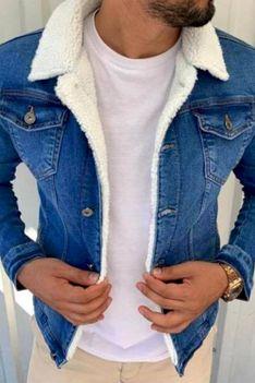 Kurtka męska jeansowa BARRY